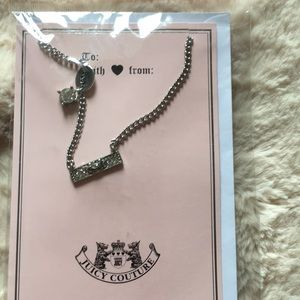 Juicy couture necklace 🎀🎀🎀
